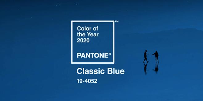 Conheça a cor tendência de 2020 PANTONE Classic Blue